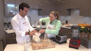 How to make Almond Milk in Your a Vitamix