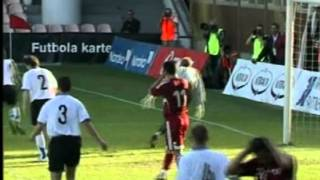 Latvia 1:0 Estonia 2008
