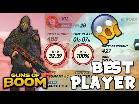 Global Best Legendary Player| Guns Of Boom
