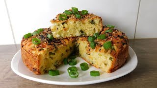 🔴 Луковый Пирог с Сыром
