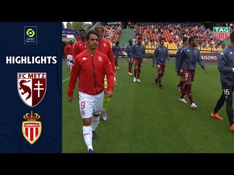FC METZ - AS MONACO (0 - 1) - Highlights - (FC METZ - AS MONACO) / 2020/2021