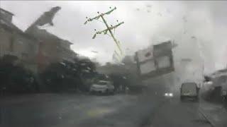 Апокалипсис в Италии! Безумный торнадо разрушил аэропорт в Модене!
