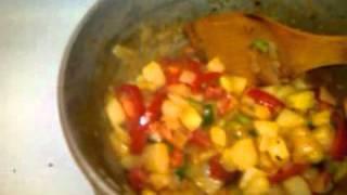 Dangerous Vegan Tomato Hashbrown Soup