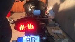 Motorrad Rücklicht Mit Integriertem Blinker