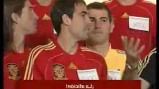 The funny side of the Spanish National Football Team