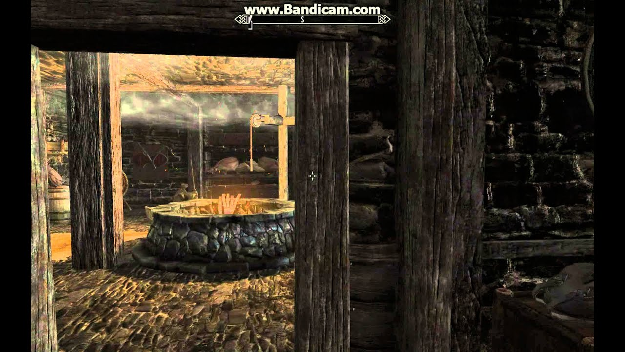 Skyrim best house full equip decorate weapon rack for Best house designs skyrim
