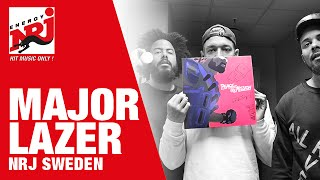 [INTERVIEW] Major Lazer älskar våra svenska Queen B's - NRJ SWEDEN