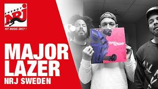 [INTERVIEW] Major Lazer älskar våra svenska Queen B's - NRJ SWEDEN