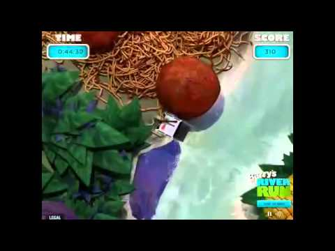 Cloudy With a Chance of Meatballs 2   Full Movie Game   Barry's River Run Flash Full Gameplay