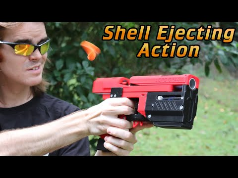 Download Nerf Mod: The FlyPoint, Shell-Slinging Blowback Action