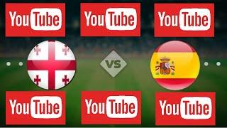 Испания Грузия прямая трансляция смотреть онлайн сегодня прогноз на футбол матч обзор
