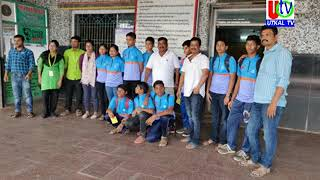 06 11 2019  UTv News Ganjam Table Tennis Team Tour To Cuttack For 25th Inter District Championship