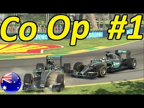 F1 2015 Co Op Career Part 1: Australian Grand Prix