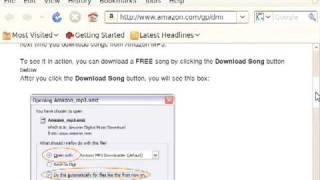 Amazon MP3 Downloader for DRM free albums Mp3