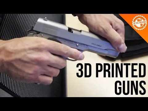 Shooting a 3D Printed Gun