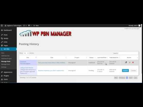 Review WP PBN Manager plugin 2014
