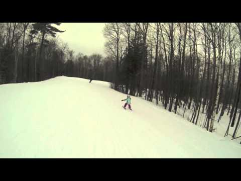 Burke Mountain Ski Trip Jan 2013