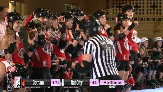WFTDA Roller Derby: 2014 Division 1 Playoffs, Sacramento: Gotham vs. Rat City Rollergirls