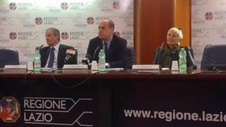 Regione, le parole di Zingaretti e Civita in vista dell'inizio della Conferenza dei Servizi