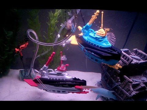 G.I.Joe Man-O-War & Barracuda Submarine Toy Review