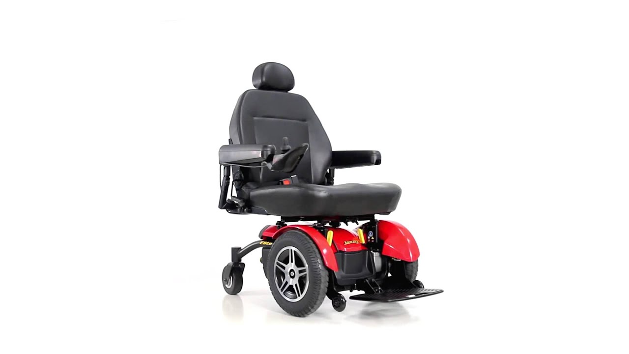 Pride Mobility Jazzy Elite HD Power Wheelchair