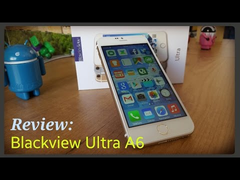 Clon iPhone 6 / Blackview Ultra A6 - Unboxing y review completa [IOS y Android]
