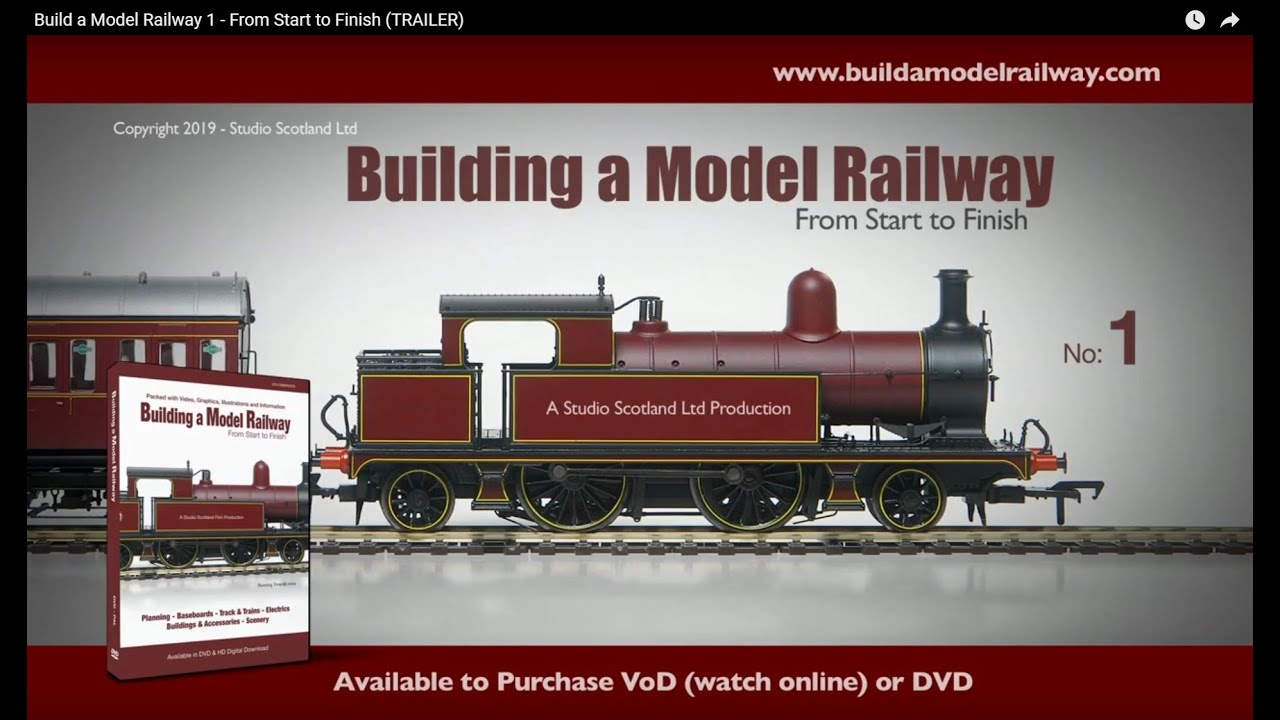Build a Model Railway 1 - From Start to Finish (TRAILER)