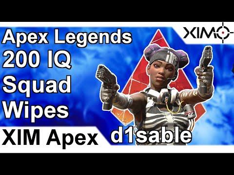 XIM APEX - Overwatch 21 Killstreak on Gibraltar McCree (PS4) by