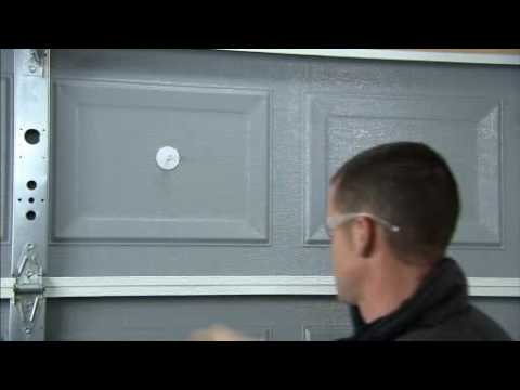 How To Install Garage Door Insulation With The Garage Door