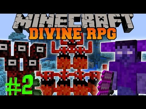MineCraft. Divine RPG Mod. Часть 2 (Ледяной Меч)