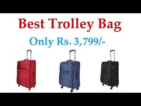 Top Brunei trolley bag in india