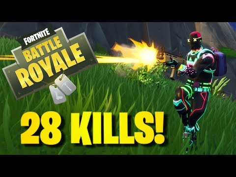 My New Record! 28 Kill Game!