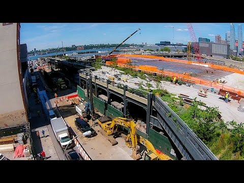 "Here's What Section 3 of the High Line Looks Like By ""Drone"""