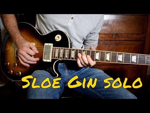 Joe Bonamassa - Sloe Gin Solo Cover (live Version)
