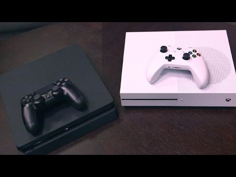 PS4 Slim and Xbox One S go head to head