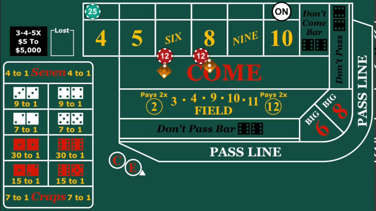 Craps legal in canada