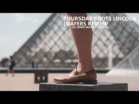 Thursday Boots Lincoln Loafer Review  (v Swims Braided Laced Loafer) - Best Loafers for Men