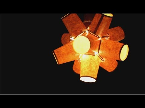 How To Make A Night Lamp From Paper Cup