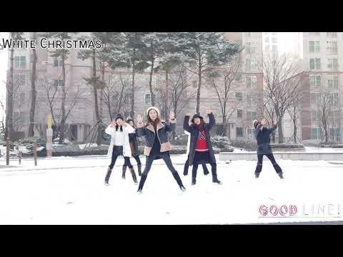 White Christmas Line Dance - Beginner (Demo)