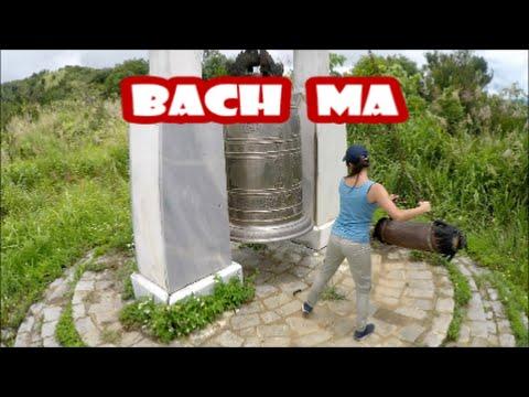 Bach Ma National Park. Vietnam Flycam.