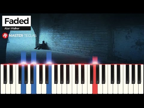 💎 Faded - Alan Walker  Piano Tutorial 💎
