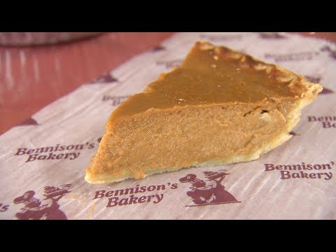 Chicago's Best Pumpkin Pie: Bennison's Bakery