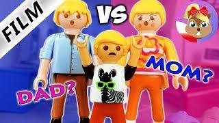Playmobil Film | WYBIERANIE POMIĘDZY ROZWIEDZIONYMI RODZICAMI! CZY FILIP WYBIERZE MIESZKANIE Z MAMĄ?