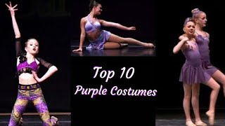 Top 10 Purple Costumes!