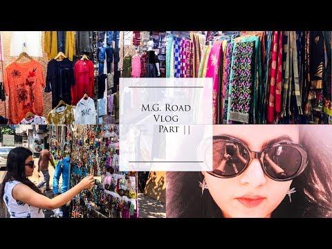 Pune Shopping Vlog | M.G. Road Vlog Part 2 | Deblina Rababi