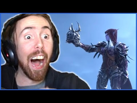 Asmongold Can't Believe THIS is the NEW EXPANSION! - 'Shadowlands' REVEAL at BlizzCon