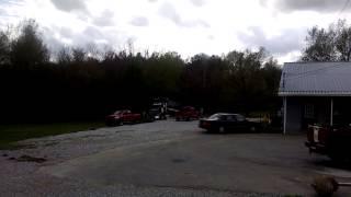 3/4 ton Dodge pulls dump truck!!!!