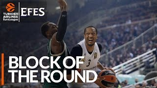 Efes Block of the Round: Anthony Randolph, Real Madrid