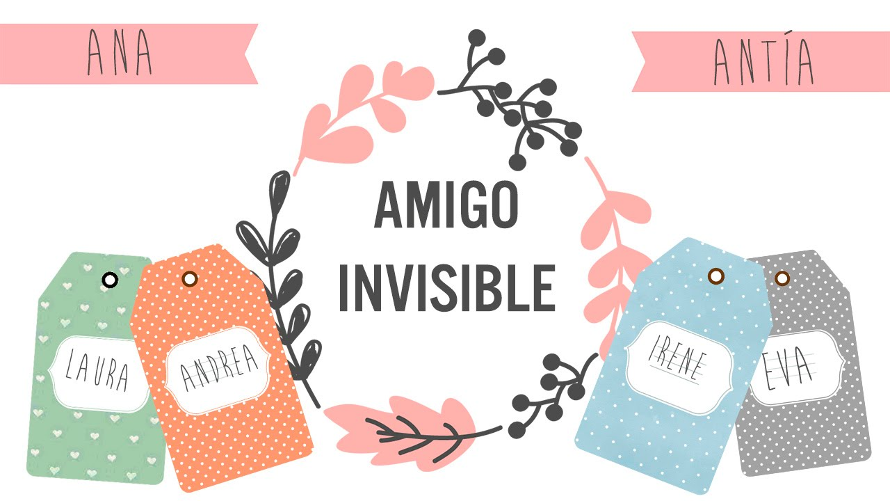 Amigo invisible youtuber unboxing y regalos youtube for Regalos originales para bodas de amigos