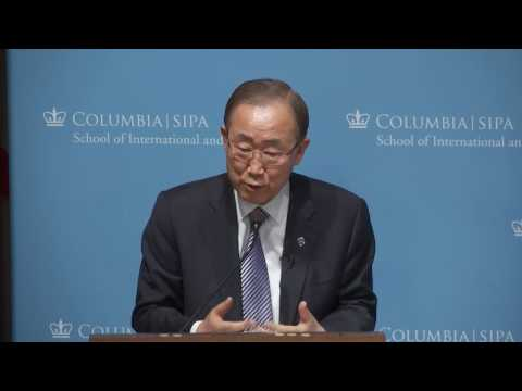 Ban: United Nations' Role in a Changing World